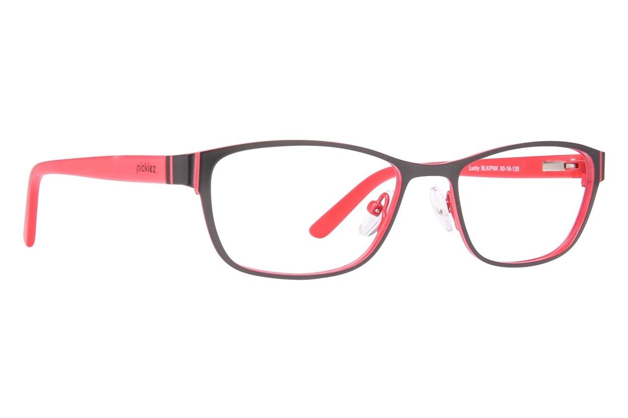Picklez Lucky Black Eyeglasses