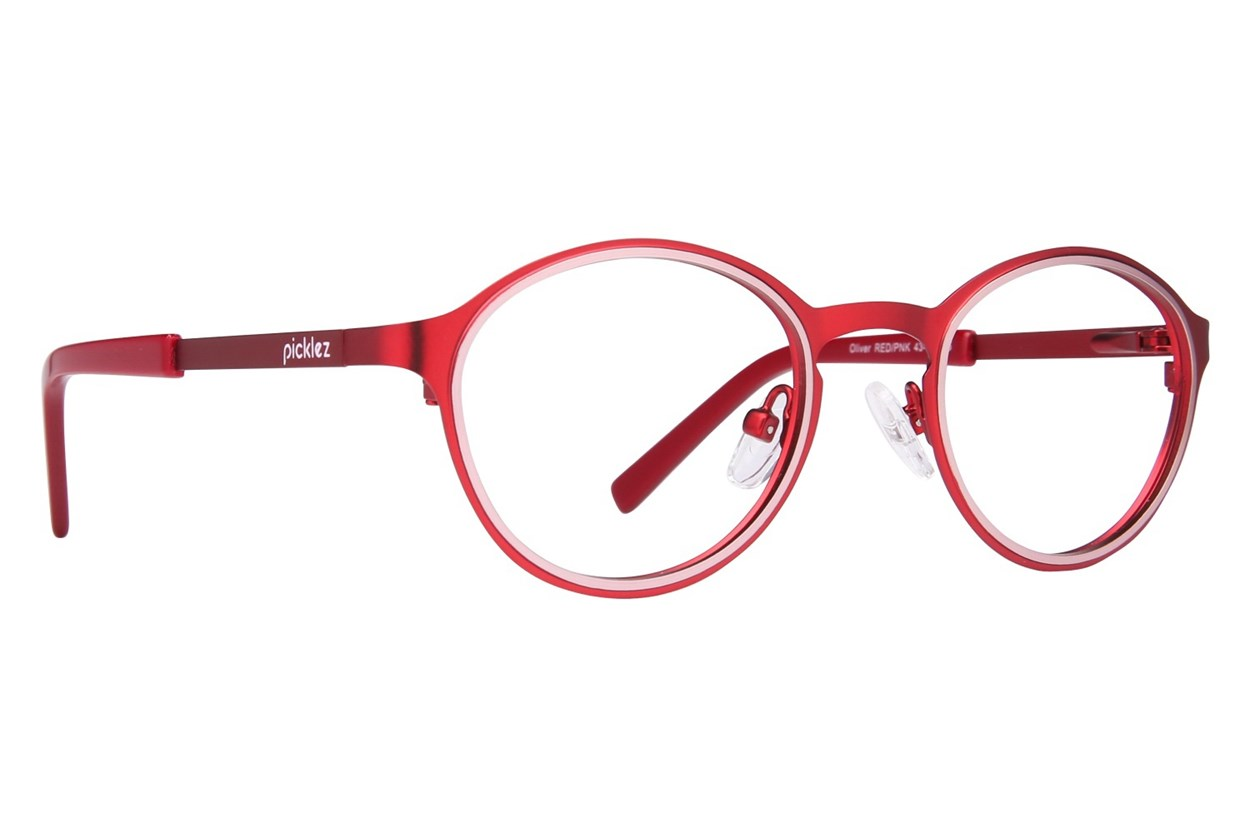 Picklez Oliver Red Eyeglasses