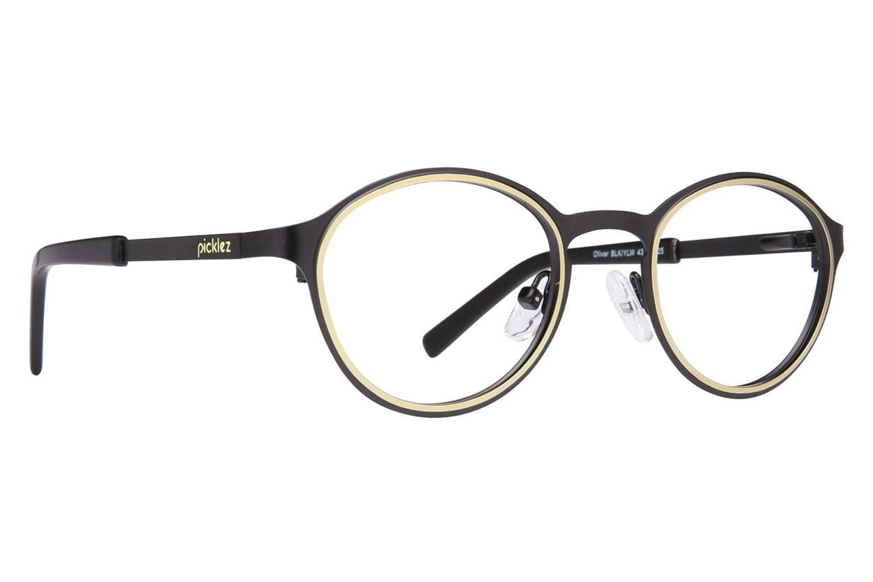 Picklez Oliver Black Eyeglasses