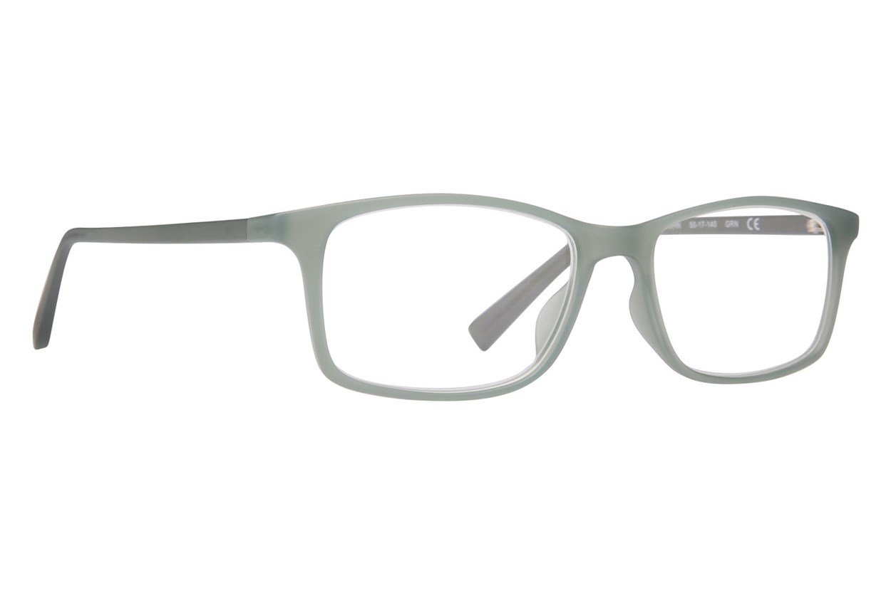 Conscious Eyez John Reading Glasses Green