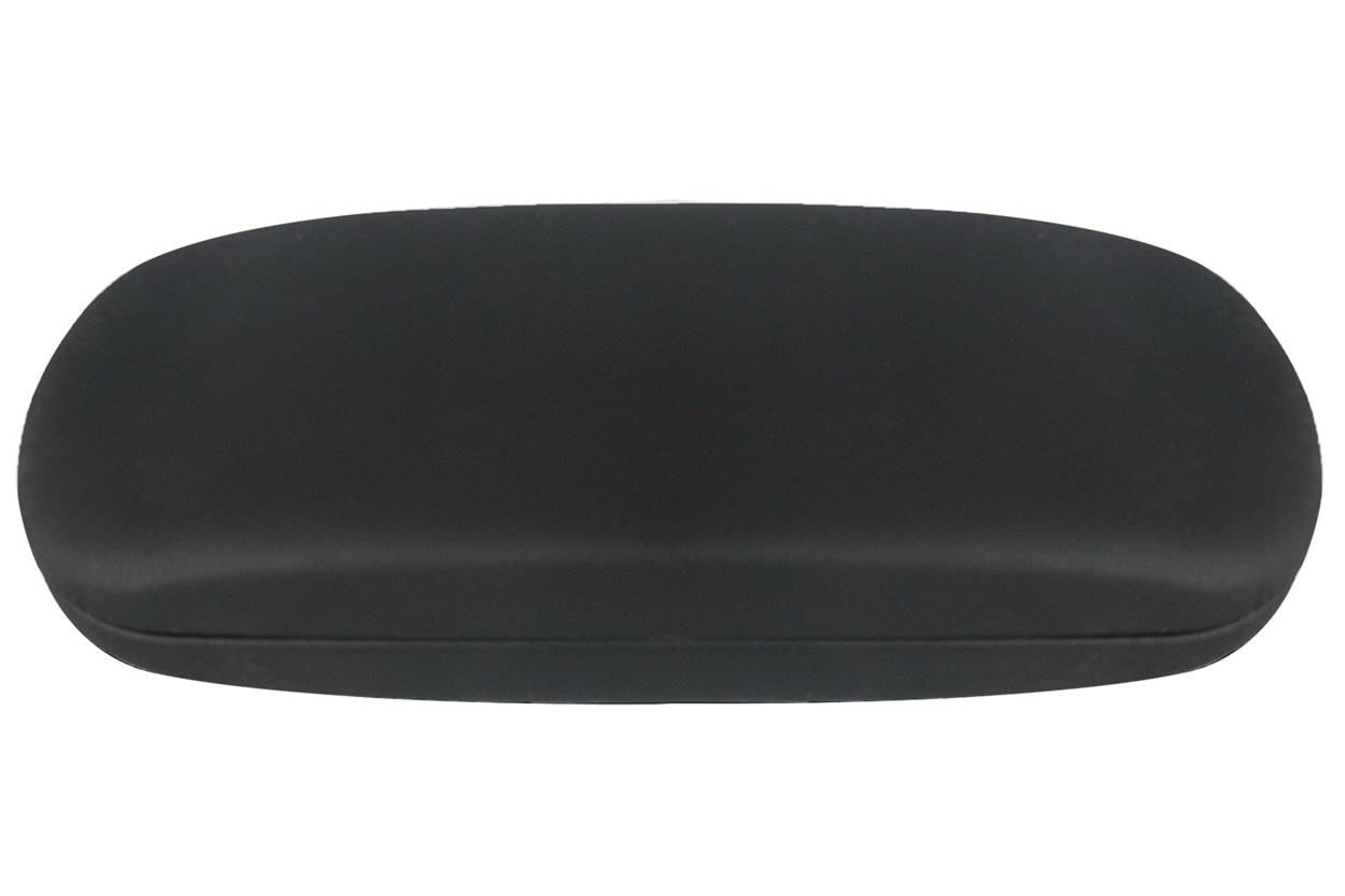 Opti-Pak Matte Clamshell Eyeglass Case Black GlassesCases