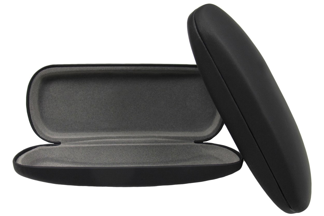 Alternate Image 1 - Opti-Pak Matte Clamshell Eyeglass Case Black GlassesCases
