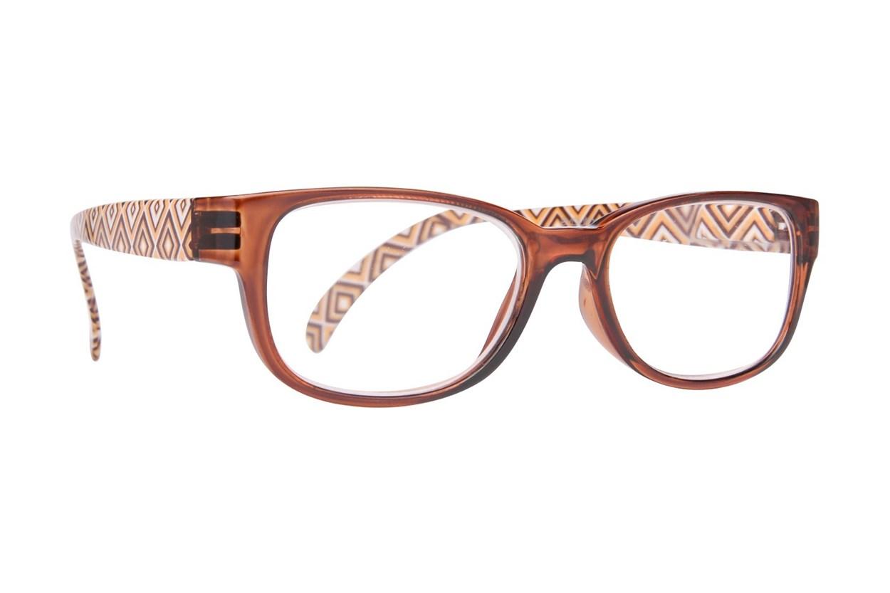Evolutioneyes EY833Z Reading Glasses Brown ReadingGlasses