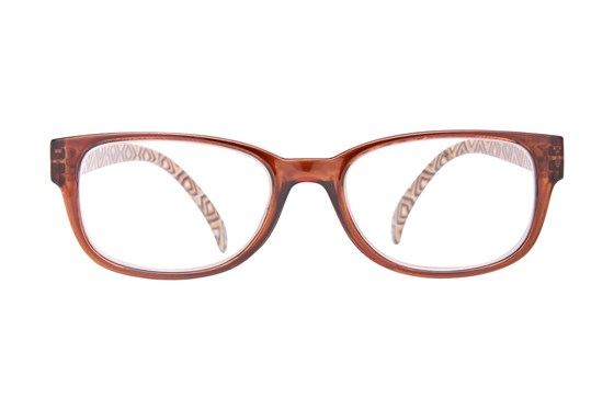 Evolutioneyes EY833Z Reading Glasses Brown ReadingGlasses