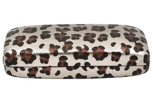 Evolutioneyes Leopard Eyeglass Case 50