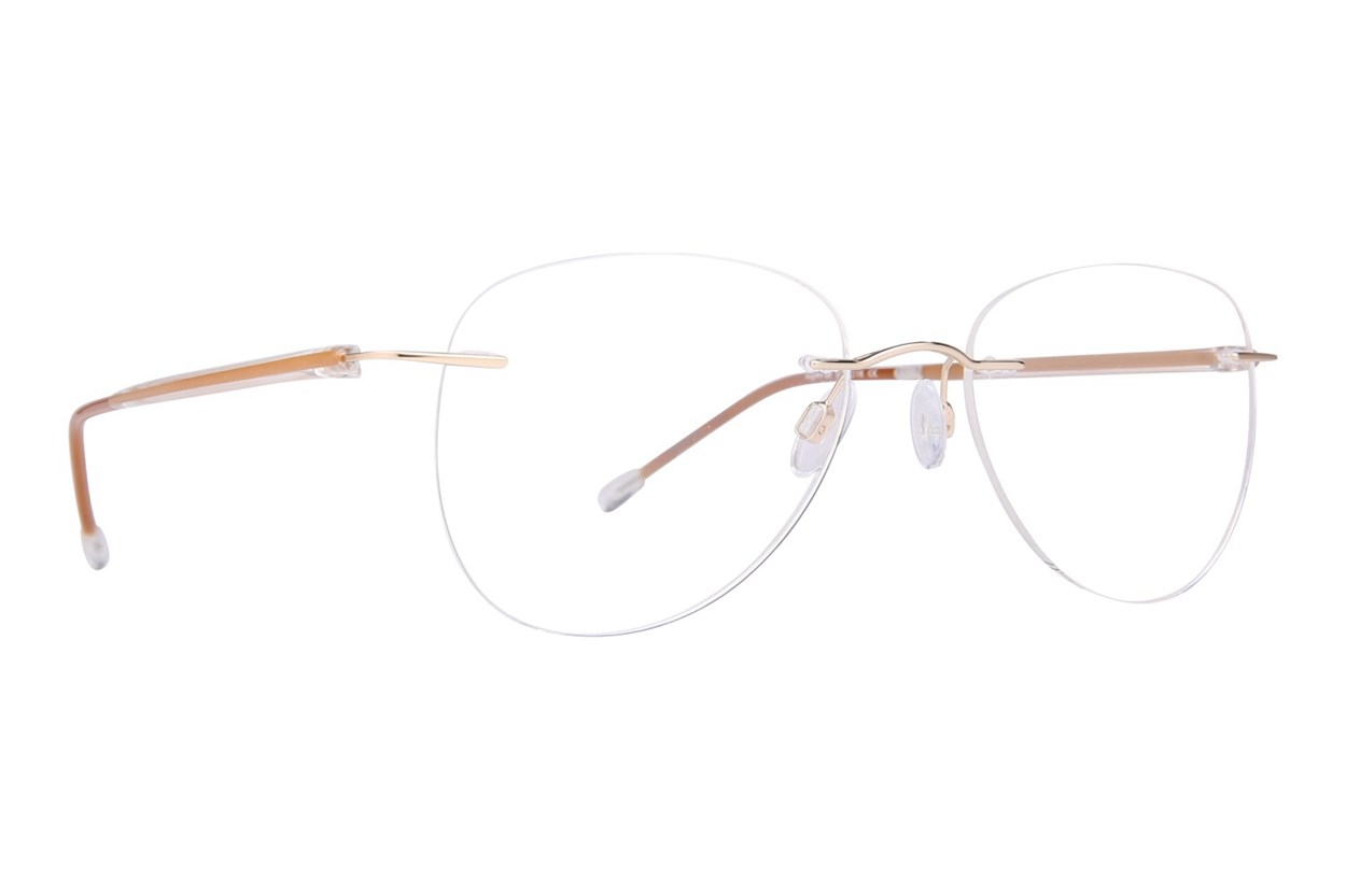 Invincilites Sigma M Brown Eyeglasses