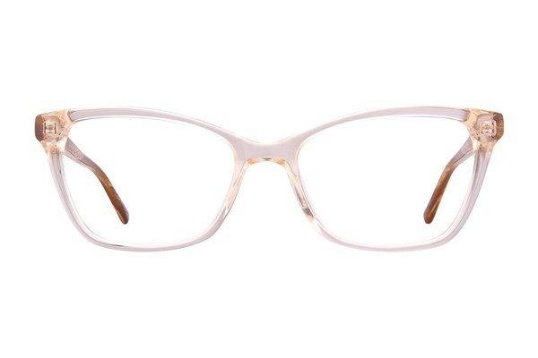 Via Spiga Dulcina Brown Eyeglasses