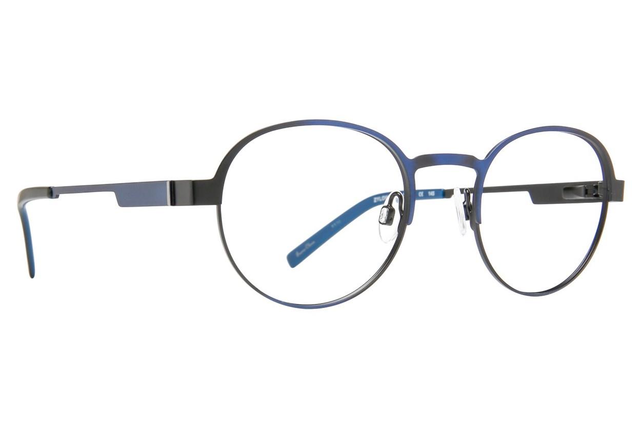Randy Jackson RJ 1074 Blue Eyeglasses