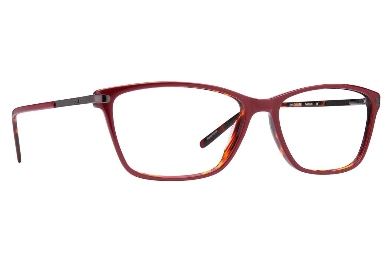Via Spiga Simonetta Red Eyeglasses
