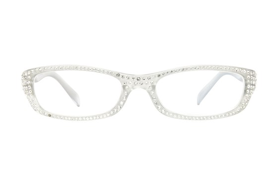 Eye Candy Sophisticated Specs Reading Glasses Clear