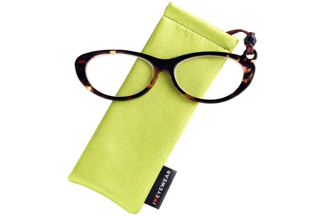 Alternate Image 1 - Eye Candy Swanky Spectacles Tortoise ReadingGlasses