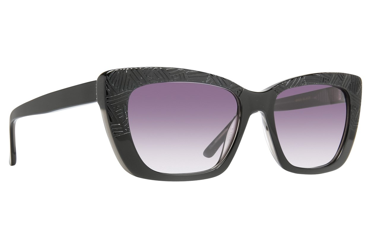 Leon Max Brea Sunglasses - Black