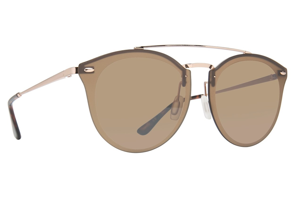 Leon Max Wade Gold Sunglasses