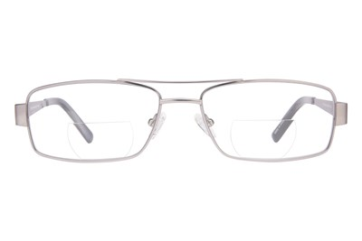 John Raymond Iron Reading Glasses Gray