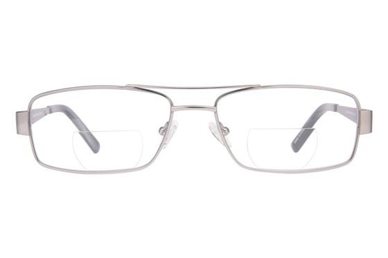 John Raymond Iron Reading Glasses Gray