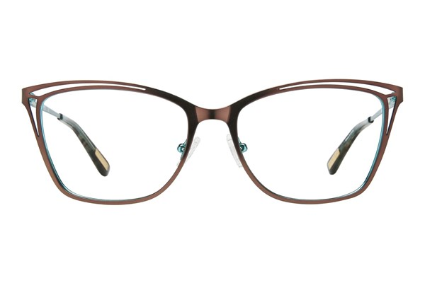 GUESS By Marciano GM 0310 Brown Eyeglasses