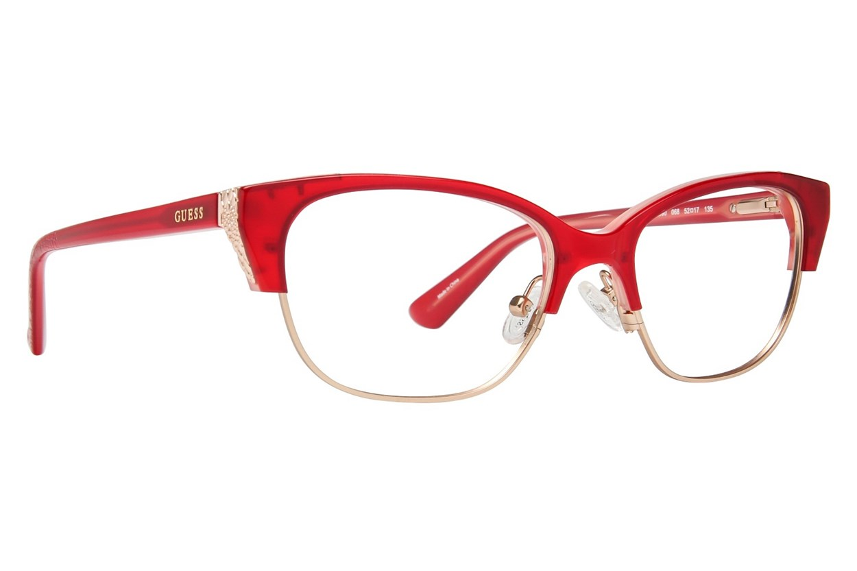 GUESS GU 2590 Eyeglasses - Red