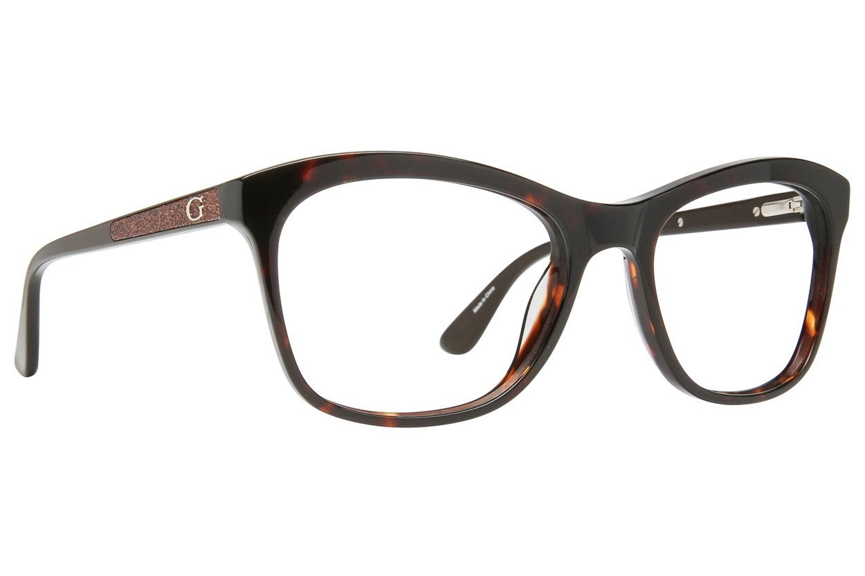 GUESS GU 2619 Brown Eyeglasses