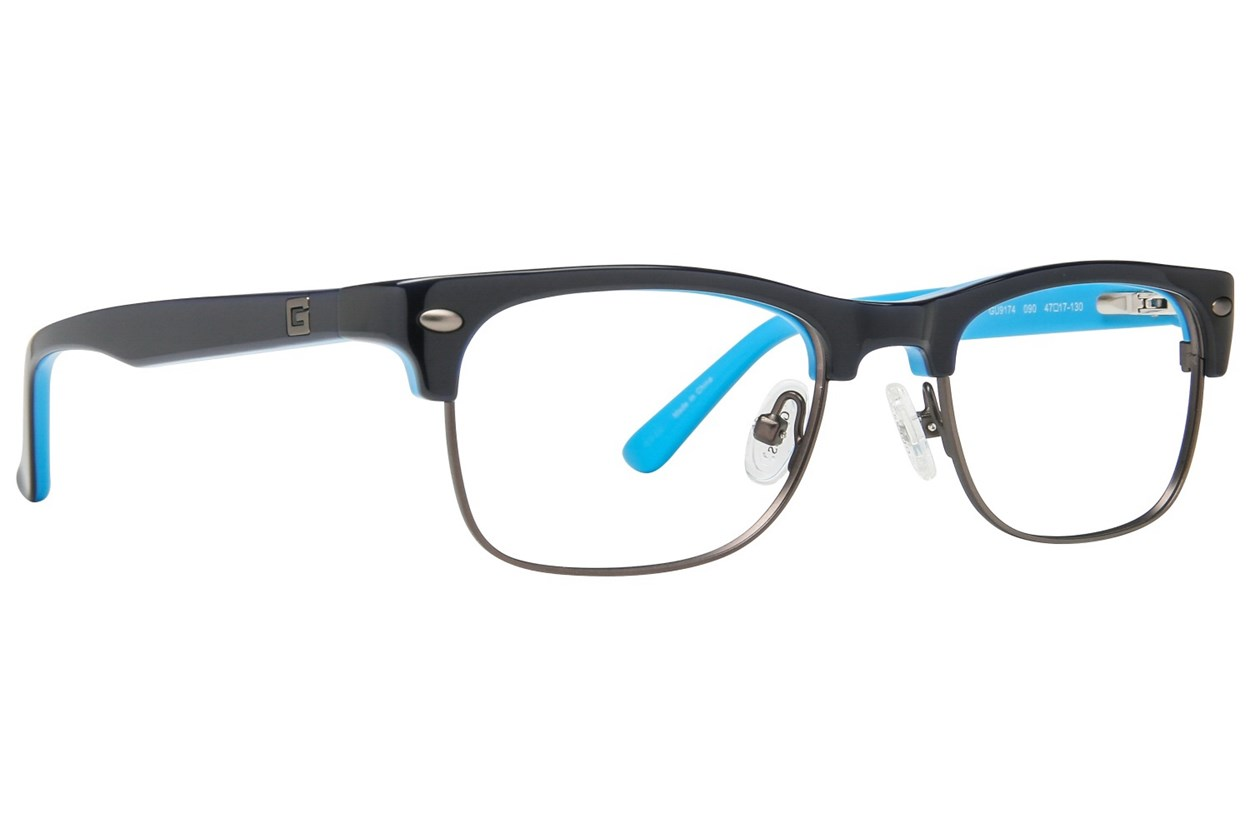 GUESS GU 9174 Eyeglasses - Blue