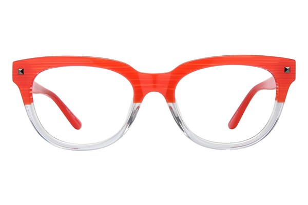 GX By Gwen Stefani GX028 Red Eyeglasses