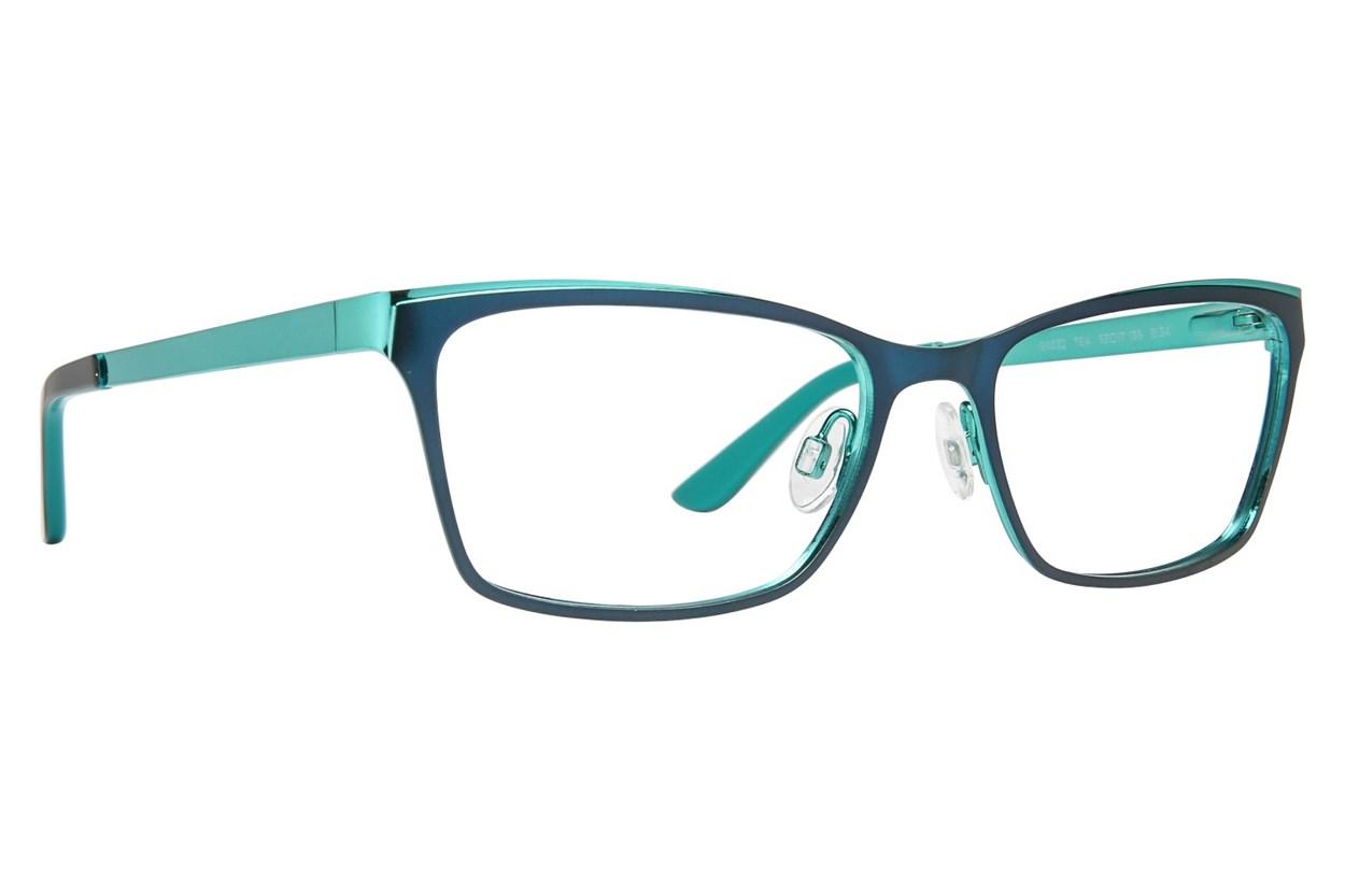 GX By Gwen Stefani GX032 Green Eyeglasses