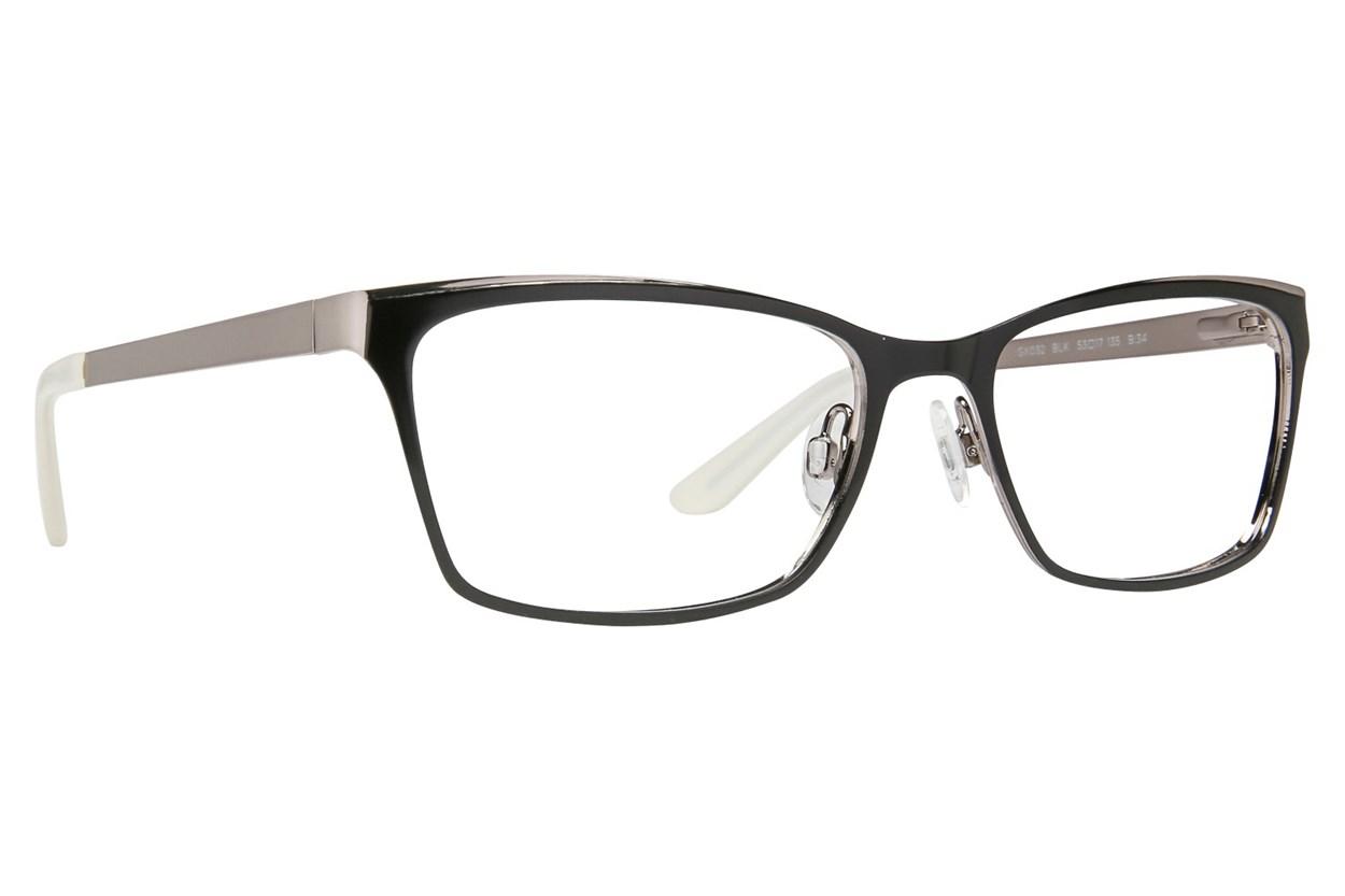 GX By Gwen Stefani GX032 Black Eyeglasses