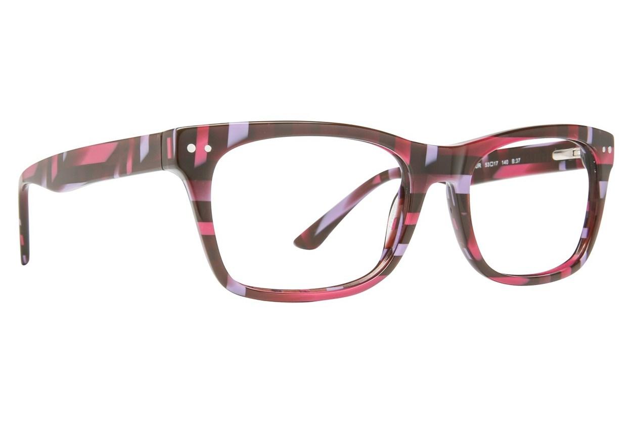 GX By Gwen Stefani GX034 Purple Eyeglasses