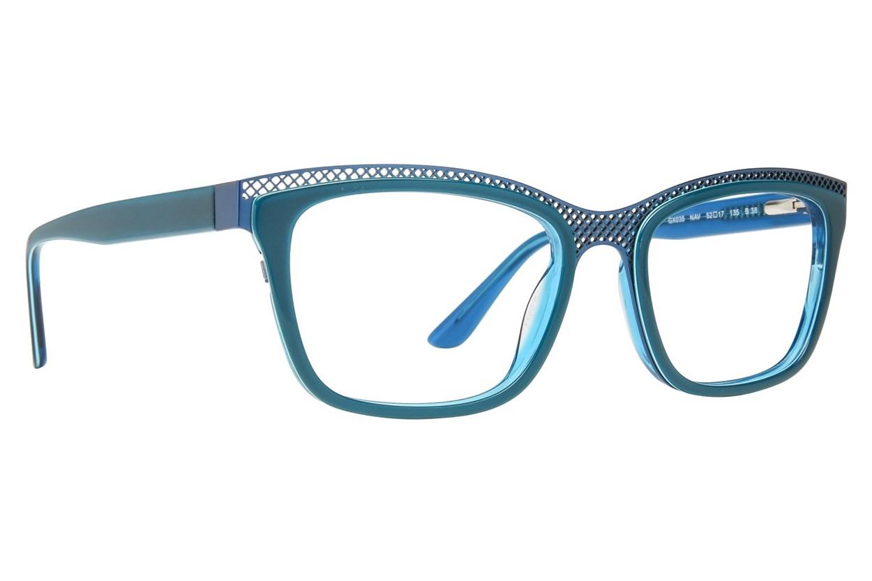 GX By Gwen Stefani GX035 Turquoise Eyeglasses