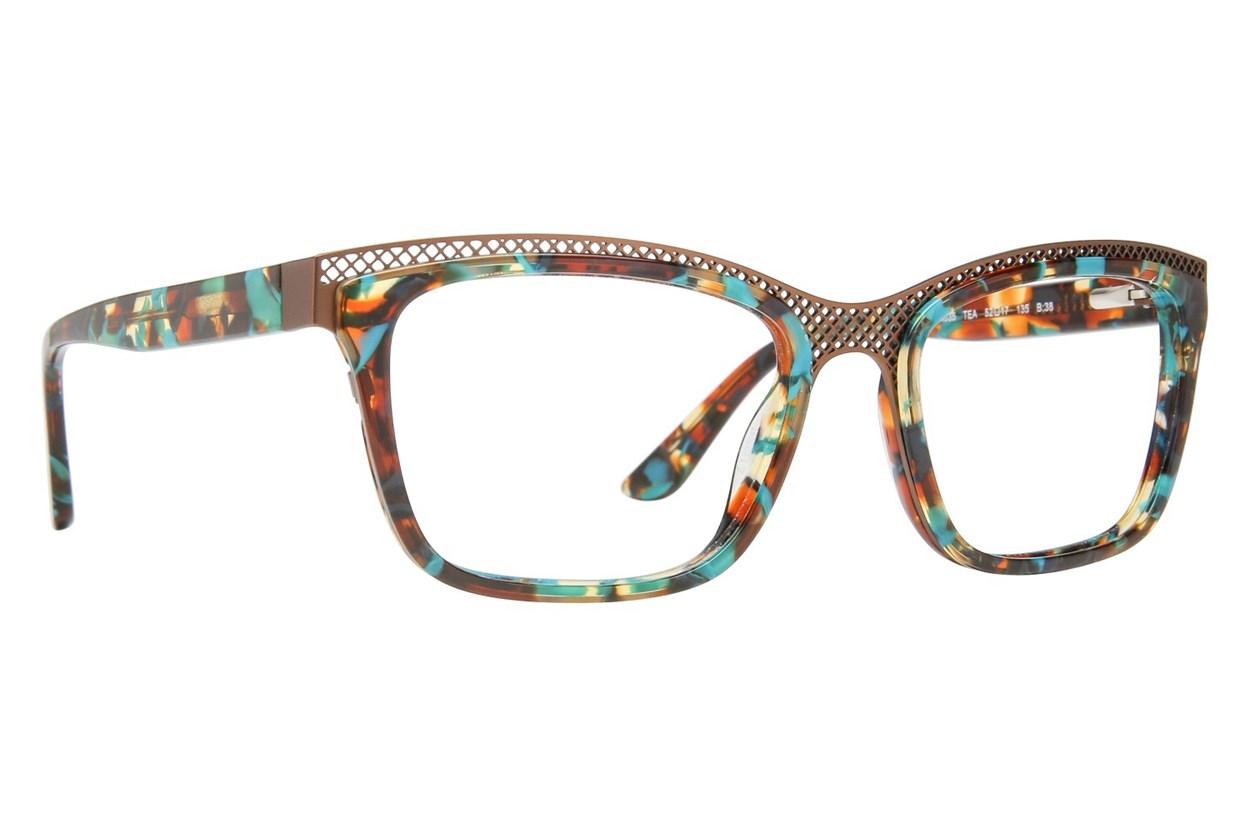 GX By Gwen Stefani GX035 Blue Eyeglasses