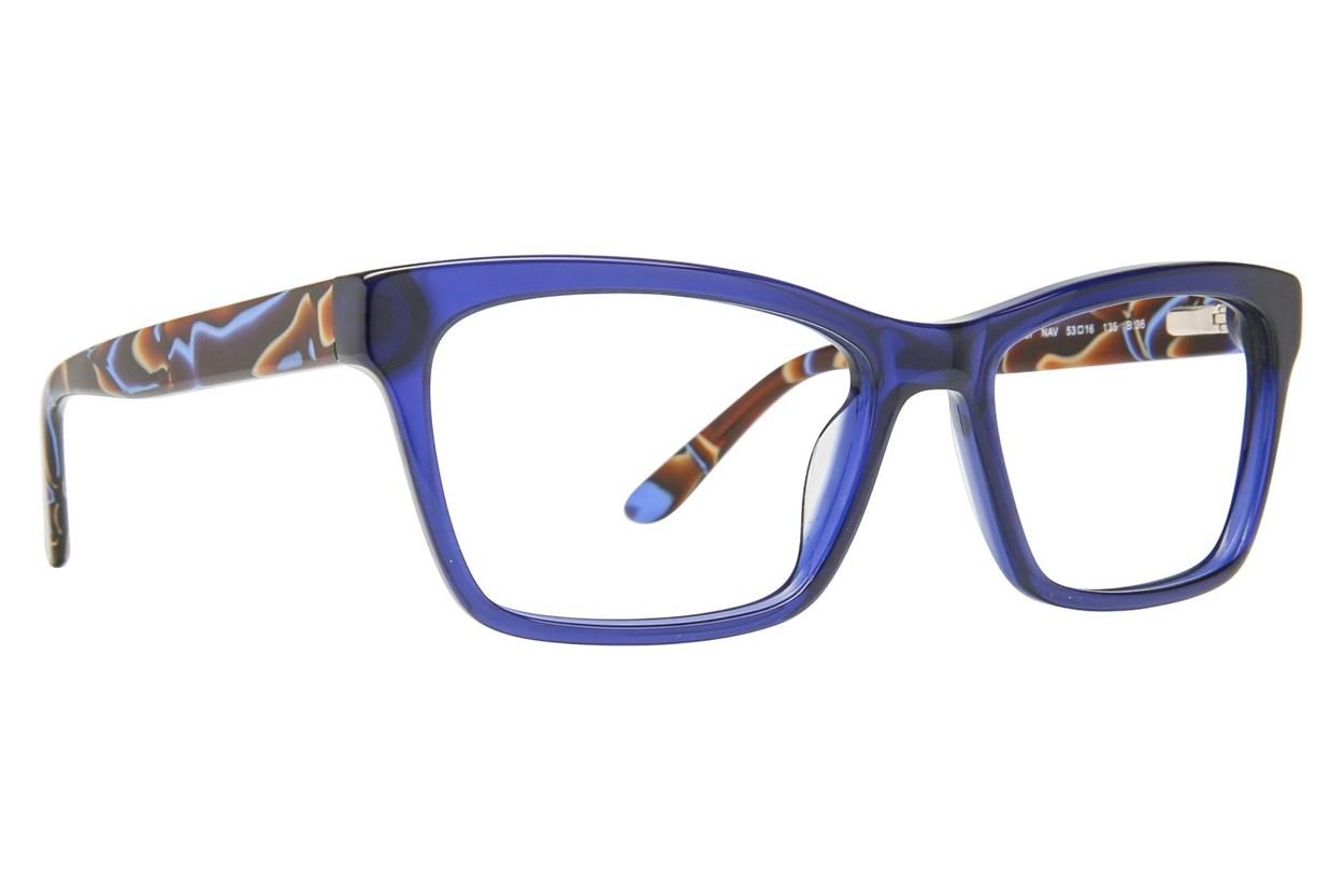 GX By Gwen Stefani GX037 Blue Eyeglasses