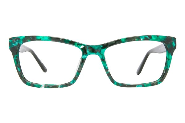 GX By Gwen Stefani GX037 Green Eyeglasses
