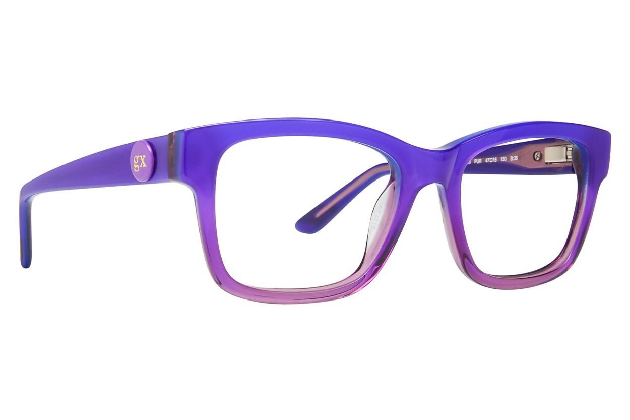 GX By Gwen Stefani GX800 Purple Eyeglasses