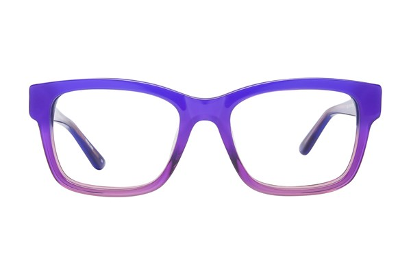 GX By Gwen Stefani GX800 Purple Eyeglasses