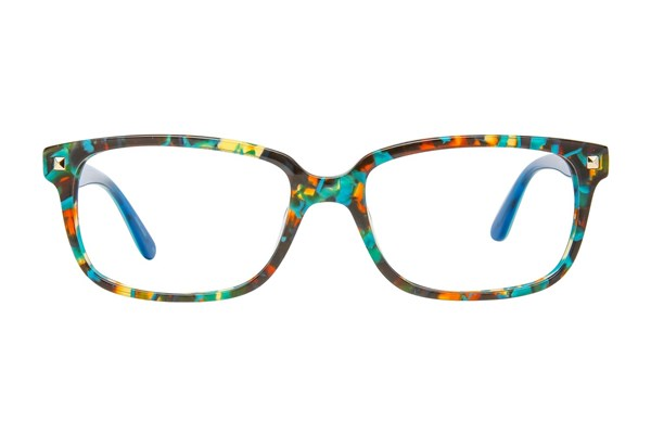 GX By Gwen Stefani GX803 Blue Eyeglasses