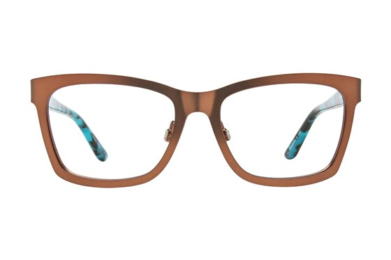 GX By Gwen Stefani GX805 Brown Eyeglasses