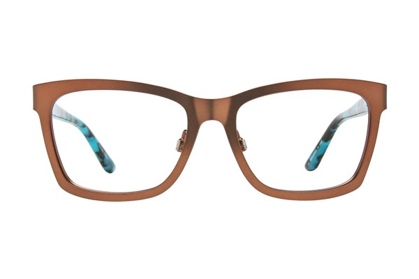 GX By Gwen Stefani GX805 Brown Eyeglasses