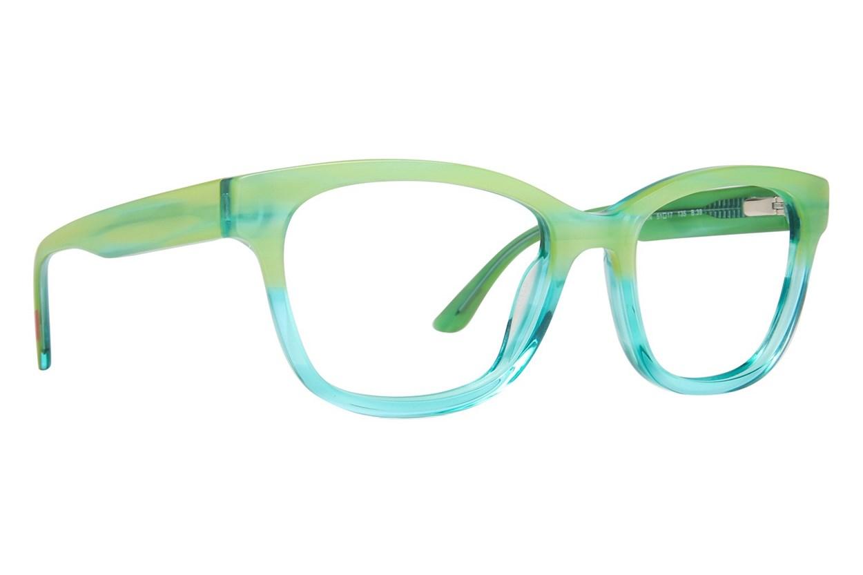 GX By Gwen Stefani GX806 Green Eyeglasses