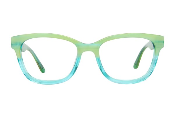 GX By Gwen Stefani GX806 Green Eyeglasses