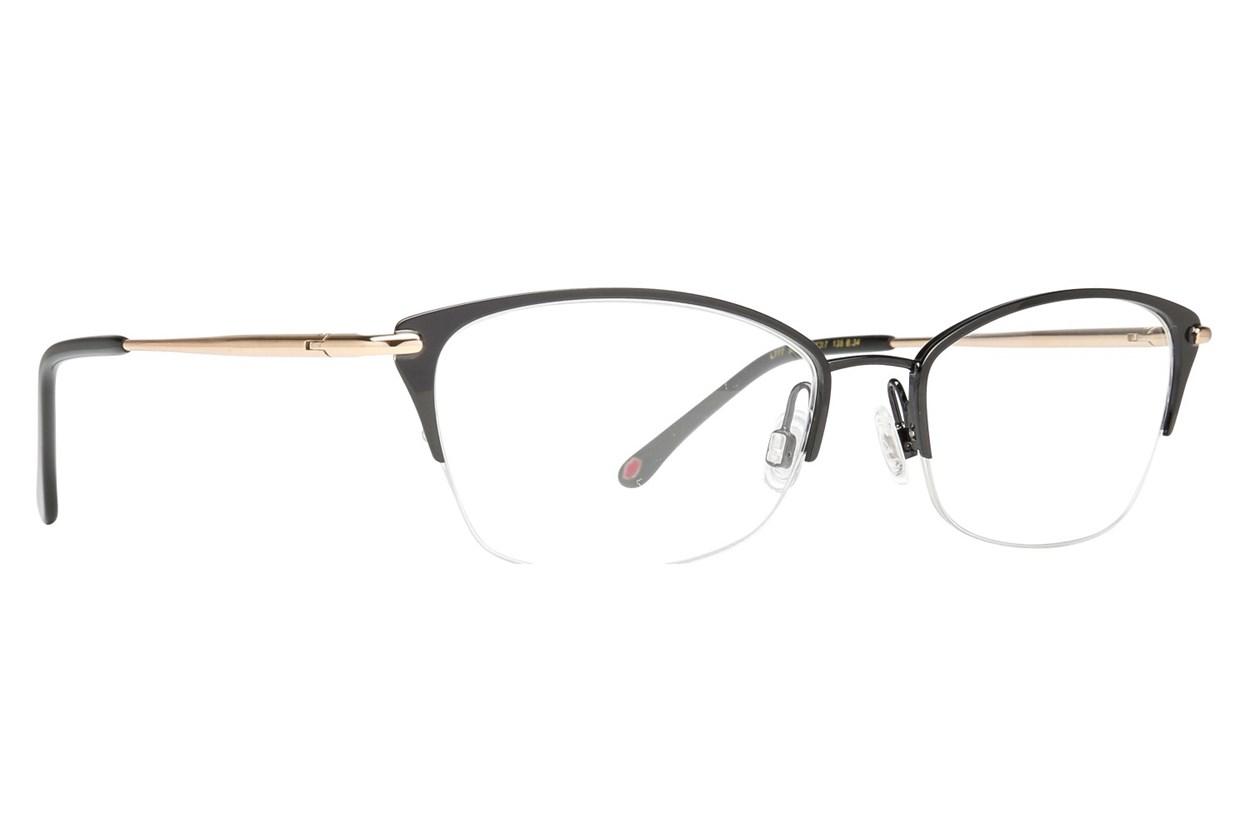 Lulu Guinness L777 Black Eyeglasses