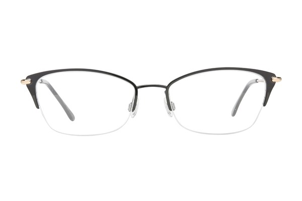 Lulu Guinness L777 Black Eyeglasses