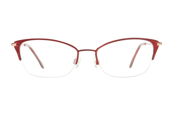 Lulu Guinness L777 Red Eyeglasses
