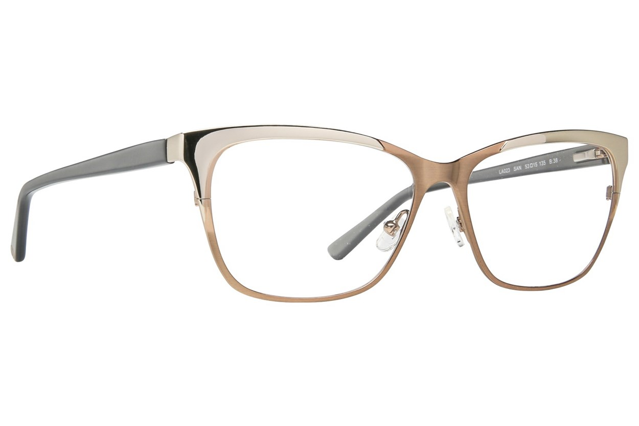 L.A.M.B. By Gwen Stefani LA023 Tan Eyeglasses