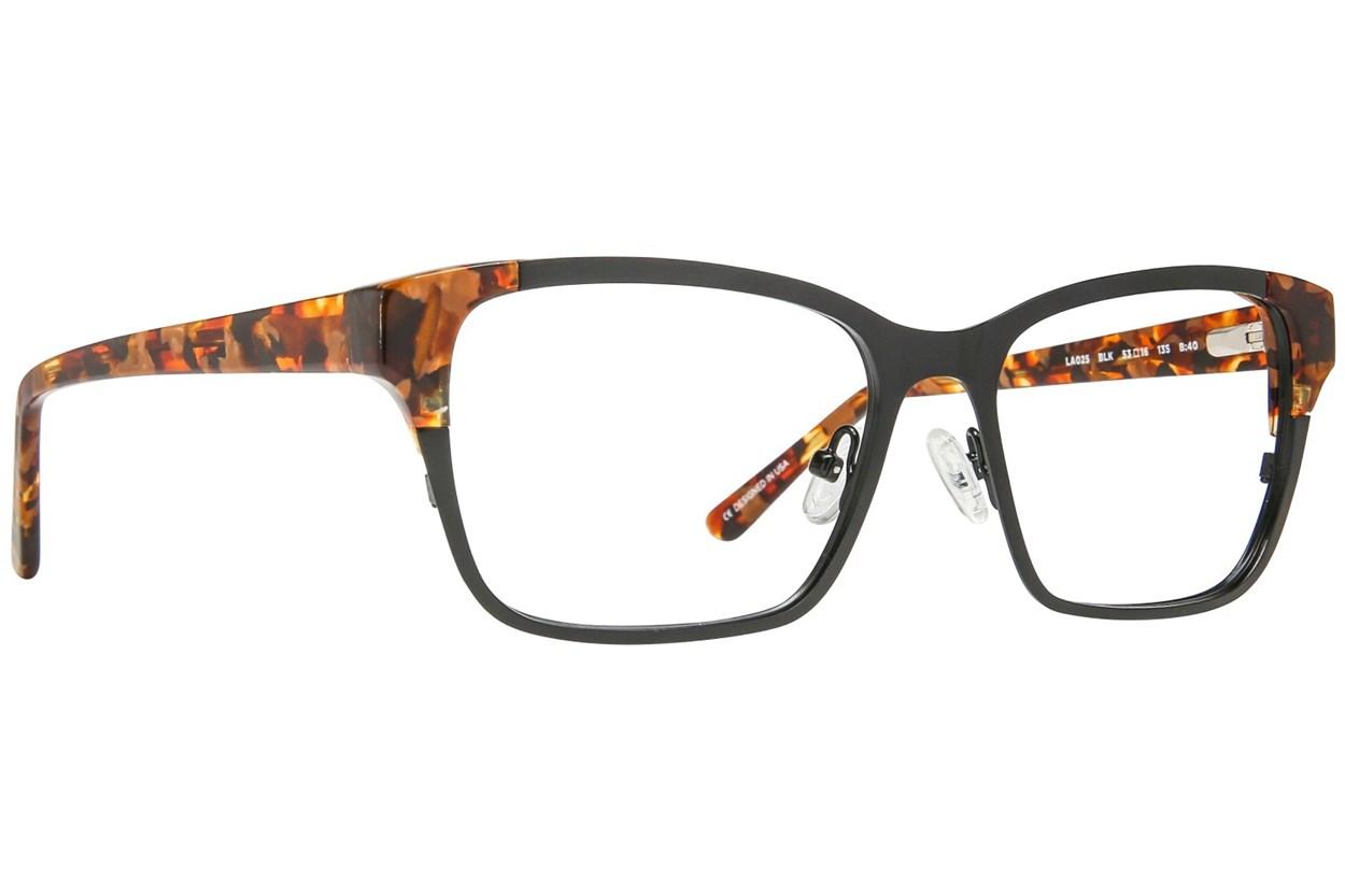 L.A.M.B. By Gwen Stefani LA025 Black Eyeglasses