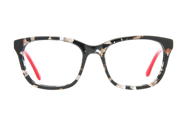 Lulu Guinness LK005 Black Eyeglasses