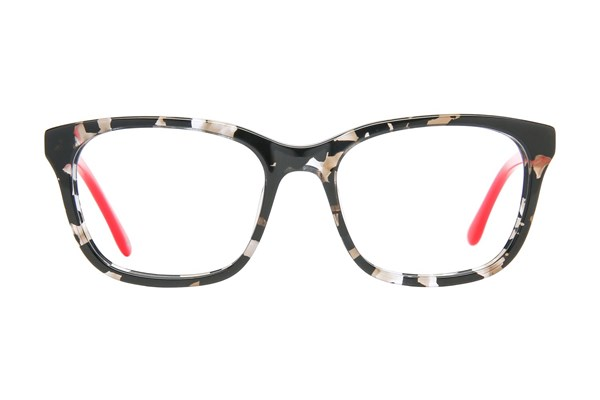 Lulu Guinness LK005 Eyeglasses - Black