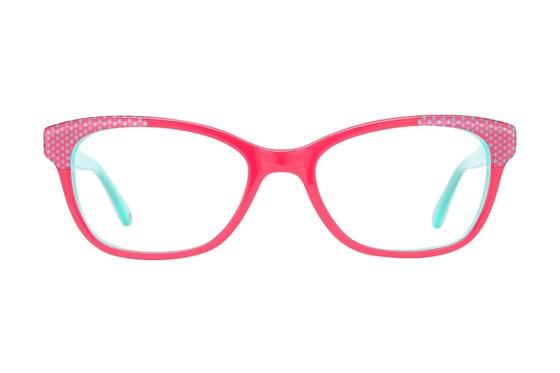 Lulu Guinness LK009 Pink Eyeglasses