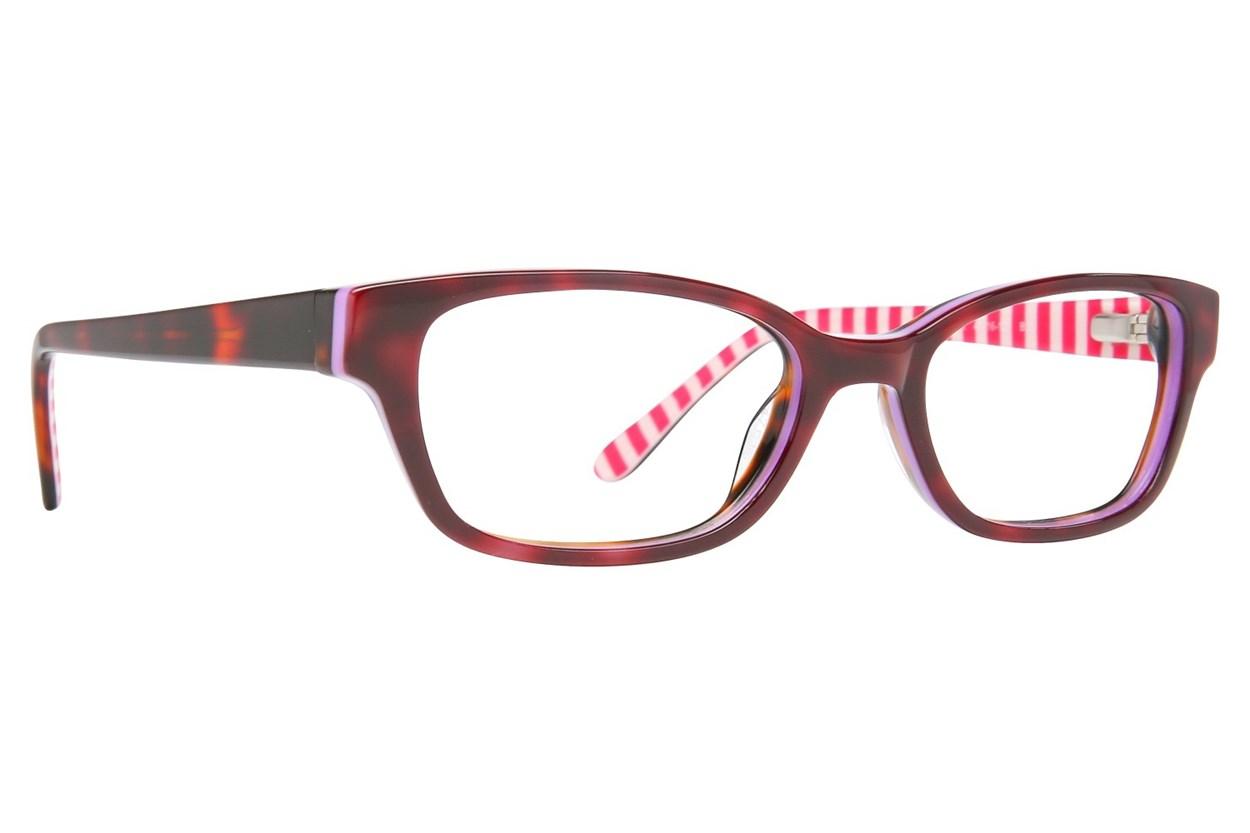Lulu Guinness LK010 Tortoise Eyeglasses