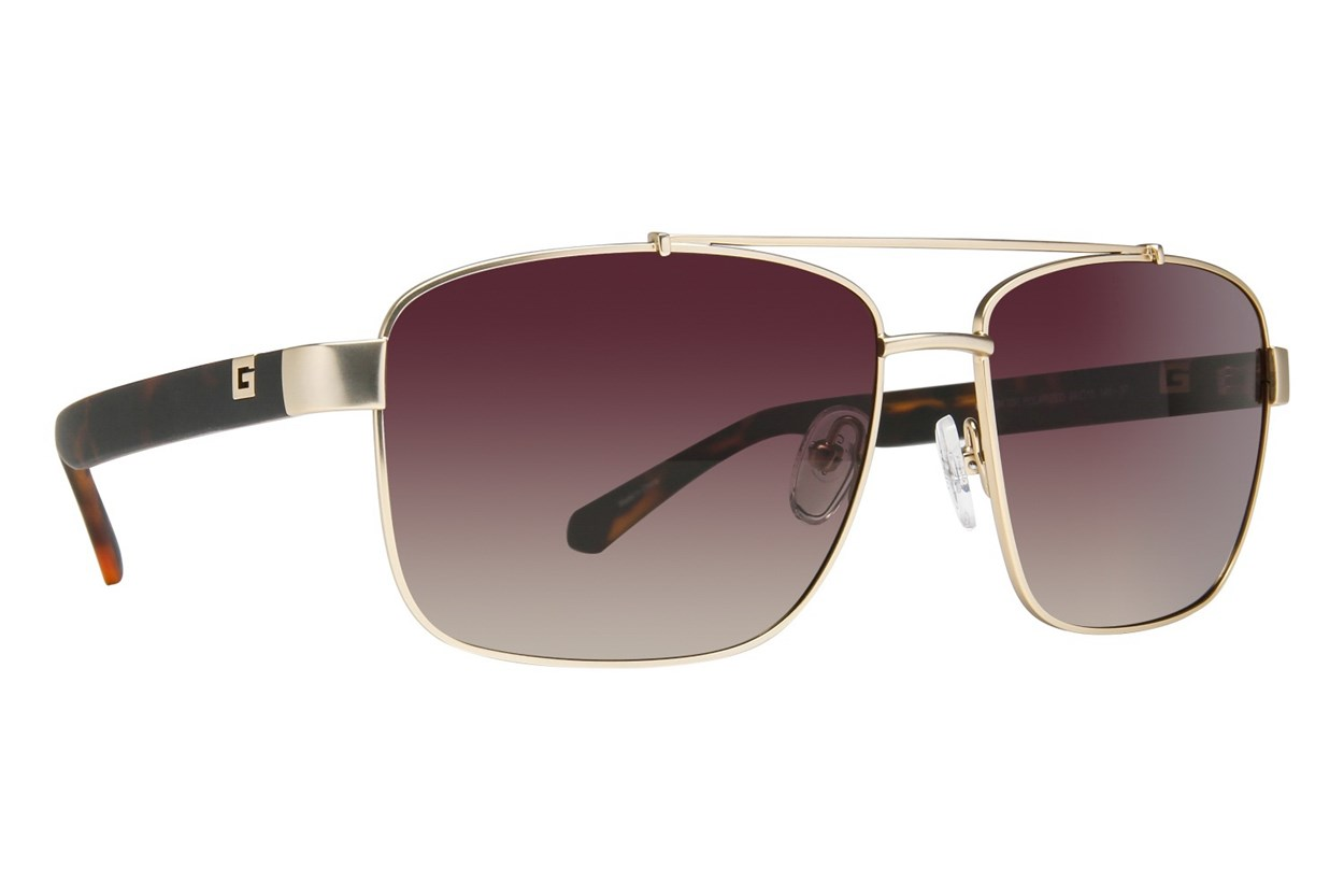 GUESS GU 6894 Gold Sunglasses