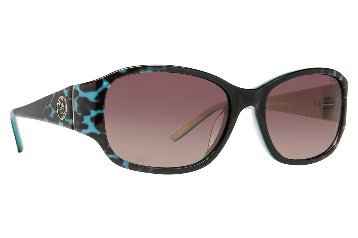 GUESS GU 7436 Turquoise Sunglasses