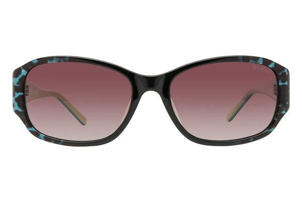 GUESS GU 7436 Sunglasses - Turquoise